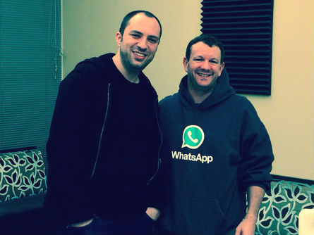 Jan Koum en Brian Acton