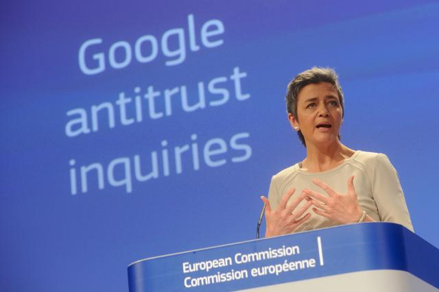 Google antitrust Vestager