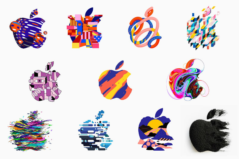 Apple logo's 30-10-2018
