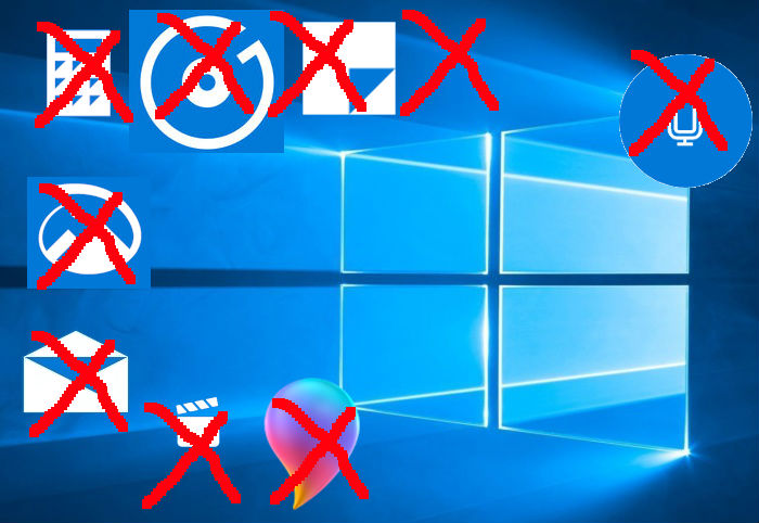 Windows 10 bloatware