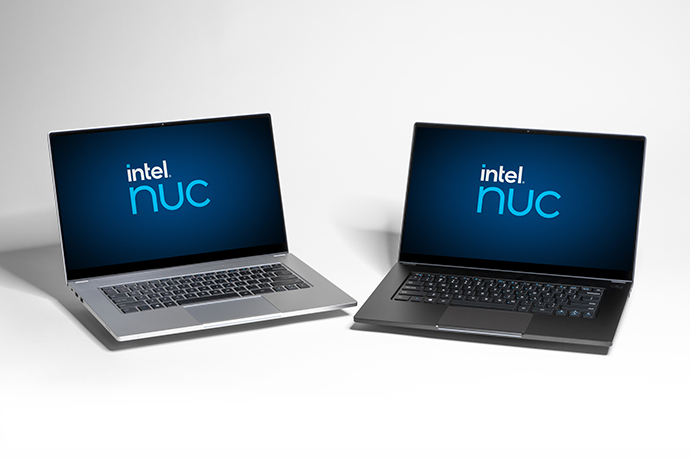 Intel NUC-laptops