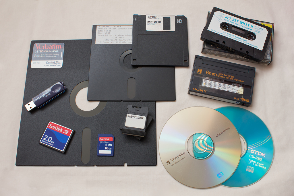 floppy, disk, cd, usb