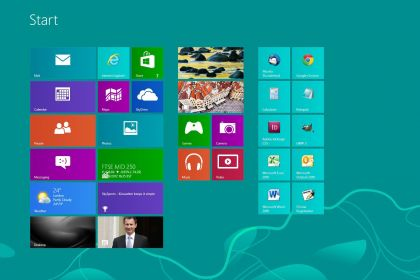 Windows 8 Start-menu