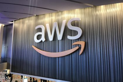 AWS logo on re:Invent