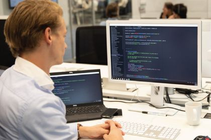 Een software engineer bij Itility