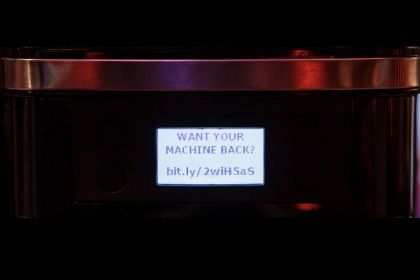 Smarter coffee machine hacked