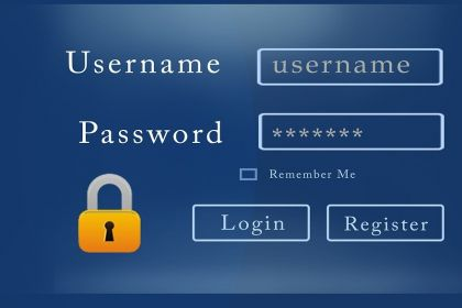 inlog username password