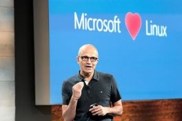 Nadella loves Linux