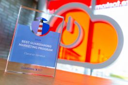 Guardian360 Best Marketing Program Award Claranet