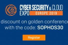 Sophos at Cyber Security & Cloud Expo