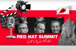 red hat summit inside