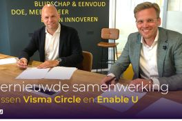 Visma Circle en Enable U breiden partnerovereenkomst uit.