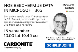 Back-up Microsoft 365