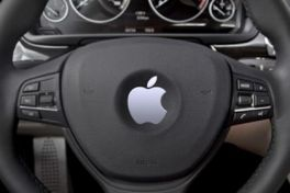 apple in de auto